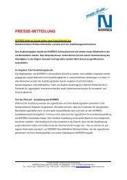 PRESSE-MITTEILUNG - NORRES Schlauchtechnik GmbH