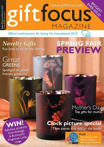 PREVIEW PREVIEW - Gift Focus magazine