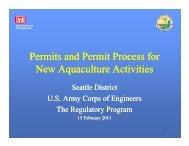 PowerPoint Presentation (pdf) - Seattle District - U.S. Army