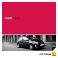 Renault Twingo II brochure (PDF) - Stichting Twingo Club