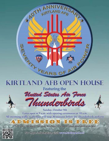 Open House doc.indd - Kirtland Air Force Base