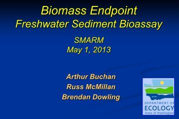 Biomass Endpoint