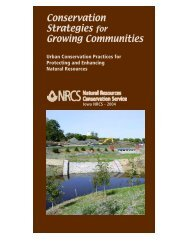Conservation Strategies for Growing Communities - Natural ...