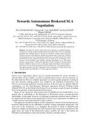 Towards Autonomous Brokered SLA Negotiation
