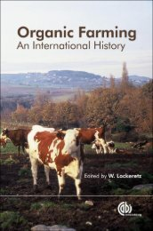 Organic Farming An International History