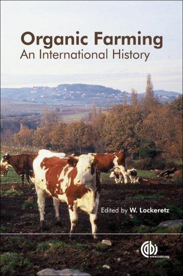 Organic Farming An International History