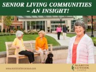 Martin Luther Care Center in Bloomington–Perfect Assisted Living