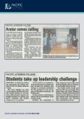 IN THE PRESS - Pacific Lutheran College - Page 6