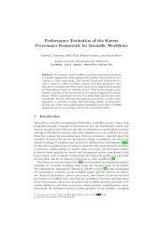 Performance Evaluation of the Karma ... - Indiana University
