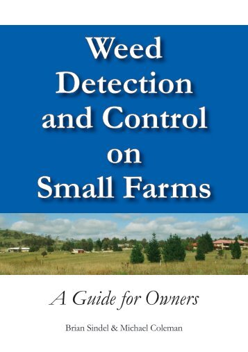 Weed Detection and Control on Small Farms - University of New ...