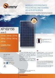 Download Scheda Tecnica XP 60/156 S - Sunerg