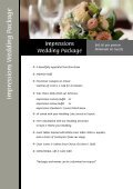 Wedding Packages - Ipswich RSL - Page 2