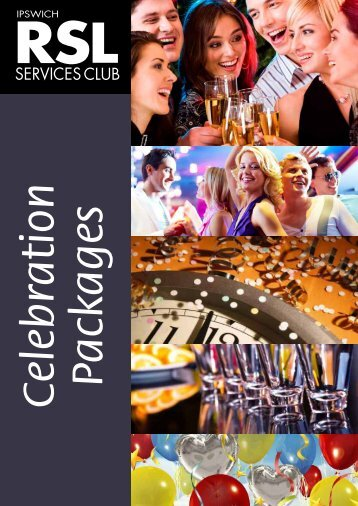 Celebration Packages - Ipswich RSL