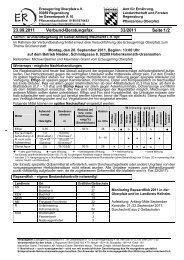23.09.2011 Verbund-Beratungsfax 33/2011 Seite 1 /2