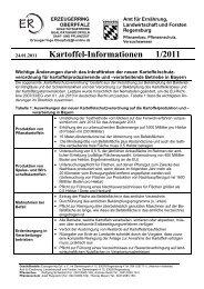 Kartoffel-Informationen 1/2011
