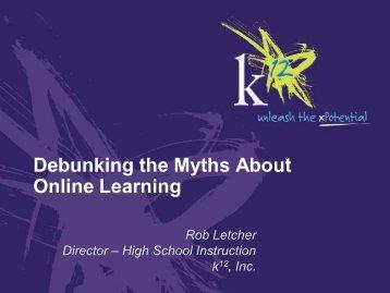 PowerPoint - Virtual School Symposium 2007