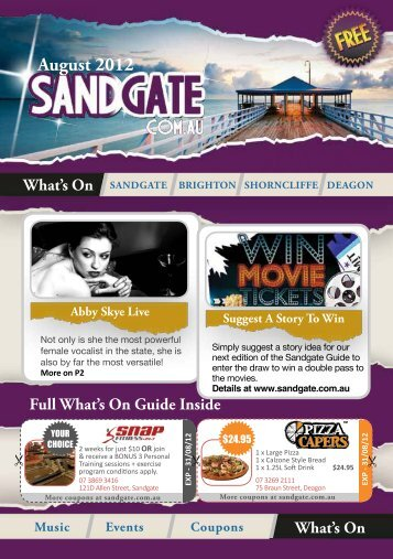 August 2012 - Sandgate QLD
