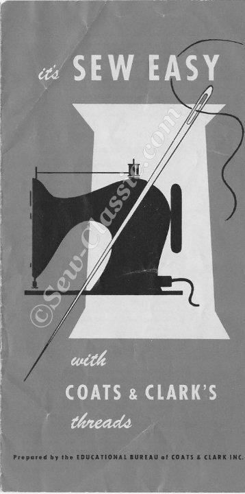 Coats & Clark's Sew Easy - Sew-Classic.com