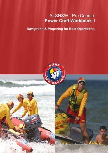 pre-Driving Maritime workbook - North Steyne SLSC