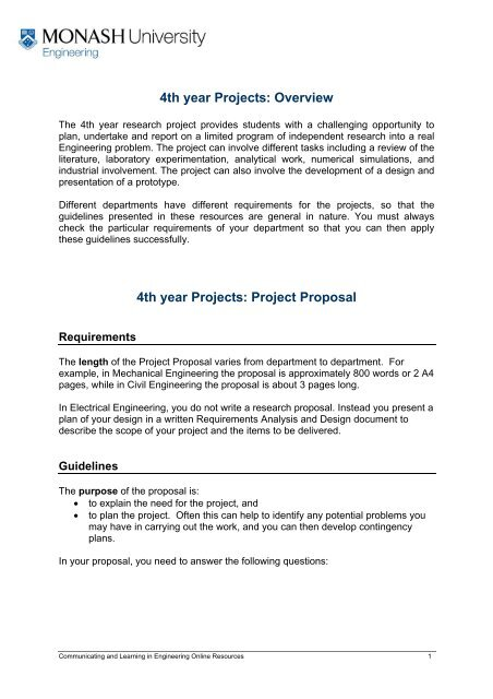 How To Write A Phd Proposal In Electrical Engineering