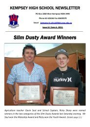 01 Kempsey Newsletter Issue 12 Week 44 [pdf, 5 MB]