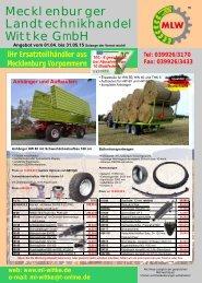 Angebote September & Oktober 2013 ansehen - Landtechnik ...