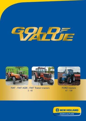 FIAT AGRI - FIAT Trattori tractors