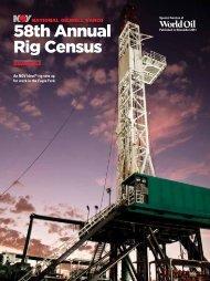 58th Annual Rig Census An NOV Ideal