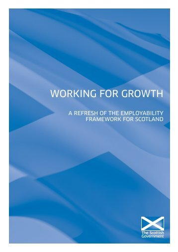 Working for Growth - Scottish Government