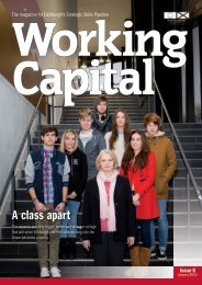 Working Capital 6 January 2013 - Joined up for Jobs
