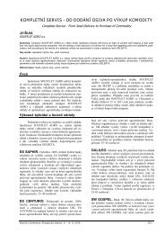 46-Silha_KOMPELTNI_SERVIS_ ... - Konference, Agro