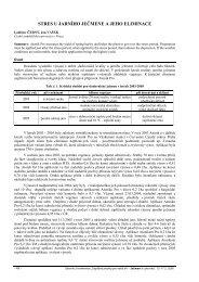 stres u jarního ječmene a jeho eliminace - Konference, Agro