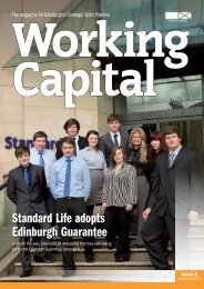 Working Capital 5 September 2012 - Joined up for Jobs