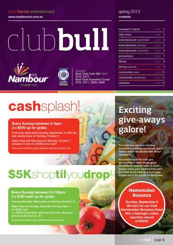 Download the Club Bull - Nambour RSL