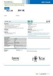 ASO 10.3x38 - Non resettable fuses - Schurter