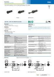 TA45/TA45-ABT wf160/C0/by schurter Circuit Breaker 16/A