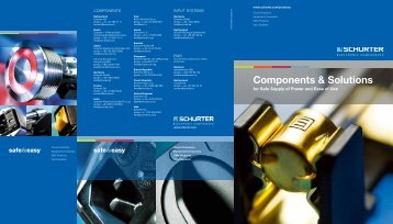 Components & Solutions - Schurter
