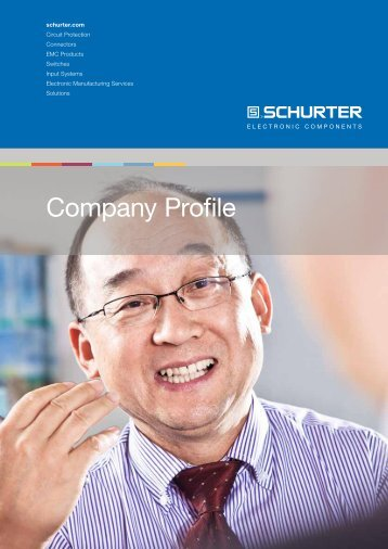 Companyprofile - Schurter