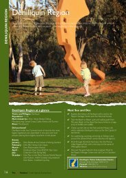 Deniliquin Region (833kb PDF) - Long Paddock