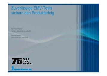 Zuverlässige EMV-Tests sichern den Produkterfolg - Schurter