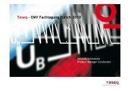 EMV Immissionen - die wichtigsten Störquellen und deren ... - Schurter