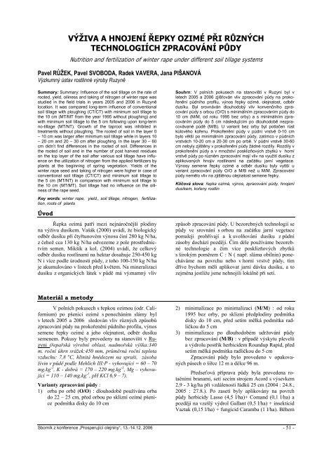 10_ruzek_svoboda_vavera_pisanova_vurv.pdf ... - Konference, Agro
