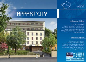 45 Orleans - Appart City - Azur InterPromotion