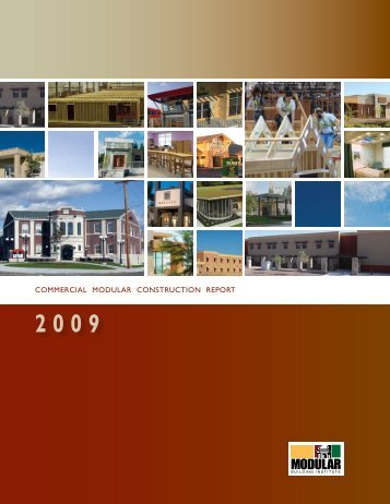 commercial modular construction report - Modular Building Institute