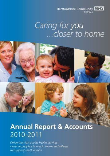 Annual Accounts - Hertfordshire Community NHS Trust