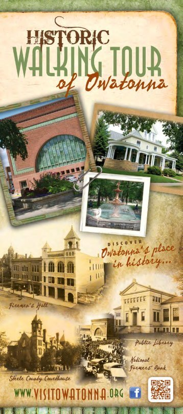 Historic Walking Tour Brochure - Owatonna Chamber of Commerce ...