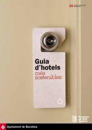 Hotels sostenibles - Ajuntament de Barcelona