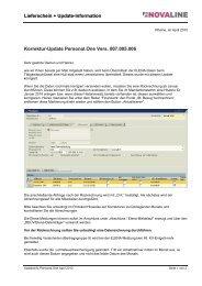 ------Schriftzug Lohn & Gehalt - Novaline