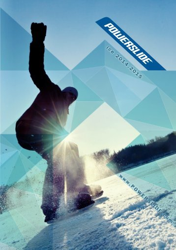 Powerslide Ice Catalogue 2014/2015