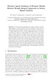 Wireless Agent Guidance of Remote Mobile Robots ... - Group of Logic